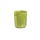 Collection DutZ ®  vase Conic, h 14 x Ø 12 cm, Colori: vert