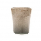 Collection DutZ ®  vase Conic, h 23 x Ø 20 cm, Colori: gris/marron