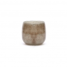 DutZ®-Collection Vase Pot, h 11 x Ø 13 cm, colour: grey/brown