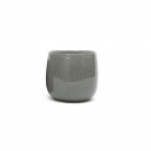 DutZ®-Collection Vase Pot, h 11 x Ø 13 cm, colour: medium grey