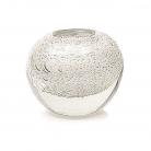 DutZ®-Collection Vase Bubble Ball, H 13,5 x Ø 13,5 cm, Weiß