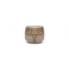 Collection DutZ ® vase/récipient Pot Mini, h 7 x Ø 10 cm, gris/marron