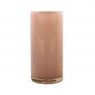 Henry Dean Vase/Windlicht Cylinder, H 30 x Ø 15 cm, Peach