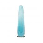 Collection DutZ ® vase Solifleur, conique, h 21 x Ø 6 cm, aqua