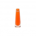 DutZ®-Collection Vase Solifleur, konisch, H 15 x Ø 5 cm, Orange