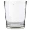 Collection DutZ® vase Conic, h 35 x Ø 30 cm, Colori: transparent