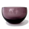Henry Dean Bowl Margaux L Extra Thick, h 22 x Ø 34 cm, Amethist