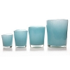 DutZ®-Collection Vase Conic, H 23  x  Ø.20 cm, aqua