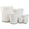 DutZ®-Collection Vase Conic, h 14  x  Ø.12 cm, colour: white