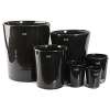 DutZ®-Collection Vase Conic, H 11  x  Ø.9.5 cm, colour: black