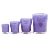 DutZ®-Collection Vase Conic, h 11 x Ø.9.5 cm, purple