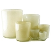 Collection DutZ ®  vase Conic, h 11 x Ø 9.5 cm, Colori: beige