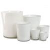 Collection DutZ ®  vase Conic, h 11 x Ø 9.5 cm, Colori: blanc