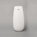 Collection DutZ® Vase Robert, h 37 x Ø 11 cm, blanc