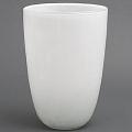 DutZ®-Collection Vase Anton, H 55 x Ø 35 cm, Weiß