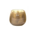 DutZ®-Collection Vase Pot, h 14 x Ø 16 cm, silver/brown with bubbles