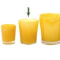 DutZ®-Collection Vase Conic, H 14  x  Ø.12 cm, Ochreous