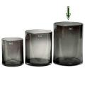 DutZ®-Collection Vase Cylinder, H 30 x Ø 22 cm, Smoke