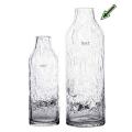 DutZ®-Collection Vase Longo, H 39 x Ø 13 cm, Klar mit Bubbles