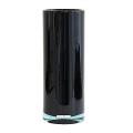 Henry Dean Vase Cylinder, h 32 x Ø 12 cm, Black