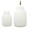 DutZ®-Collection Vase Moderno, h 21 x Ø 13 cm, white