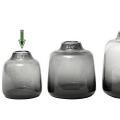 DutZ®-Collection Vase Tisza, H 15 x Ø 14 cm, Smoke