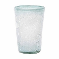 DutZ®-Collection Vase Conic with bubbles, h 30  x  Ø.20 cm, light blue