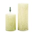 DutZ®-Collection Vase Cylinder, H 18 x Ø 12 cm, Hellgrün mit Bubbles