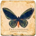 Marble Tile, Theme: Butterflies C, antique finish, hanger, anti slip nubs, Dim.: l 20 x w 20 x h 1 cm