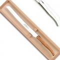 Laguiole Brotmesser in Box, Wellenschliff, L 31,5 cm, Edelstahl