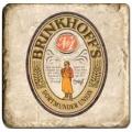 Carrelage en marbre, motif bière 1B, finition antique, illet pour l'accroche, pieds antidérapants, L 20 xl 20 x h 1 cm