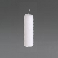 DutZ®-Collection Pillar-Candle, h 20 x Ø 7 cm, colour: white