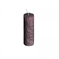 DutZ®-Collection Stumpenkerze, H 20 x Ø 7 cm, Farbe: Violett