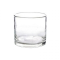 DutZ®-Collection Cylinder Bowl, high, h 18 x Ø 18 cm, colour: clear