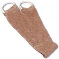 Sangle de massage, 70% lin, 30% coton, tissage élastique, anses de préhension en coton aux extrémités, dimensions: L 76 xl 12cm