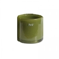 DutZ®-Collection Cylinder Bowl, high, h 18 x Ø 18 cm, colour: green