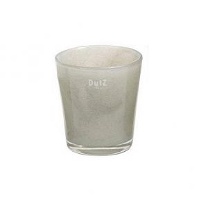Collection DutZ® vase Conic, h 17 x Ø 15 cm, gris clair