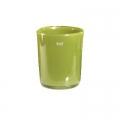 Collection DutZ® vase Conic, h 17 x Ø 15 cm, Colori: vert