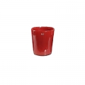 DutZ®-Collection Vase Conic, h 11  x  Ø.9.5 cm, colour: red