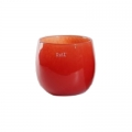 Collection DutZ® vase/récipient Pot, h 14 x Ø 16 cm, Colori: rouge