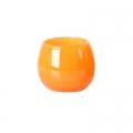 DutZ®-Collection Vase Pot, H 14 x Ø 16 cm, Farbe: Orange