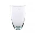 Collection DutZ® Vase, h 32 cm x Ø 21 cm, Colori: transparent