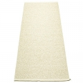 Pappelina Carpet Svea, champagne/metallic, softvinyl-bandweave, l 160 x w 70 cm