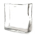 DutZ®-Collection Vase oblong, L 30 x h 30 x T 12 cm, clear