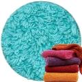 Abyss & Habidecor Super Pile Frottee-Handtuch, 55 x 100 cm, 100% ägyptische Giza 70 Baumwolle, 700g/m², 370 Turqoise