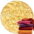 Abyss & Habidecor Super Pile Frottee-Handtuch, 55 x 100 cm, 100% ägyptische Giza 70 Baumwolle, 700g/m², 803 Popcorn