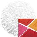 Abyss & Habidecor Badematte Must, 50 x 80 cm, 100% ägyptische Baumwolle, gekämmt, 100 White