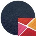 Abyss & Habidecor Badematte Must, 50 x 80 cm, 100% ägyptische Baumwolle, gekämmt, 332 Cadette Blue