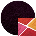 Abyss & Habidecor Bath Mat Must, 50 x 80 cm, 100% Egyptian Combed Cotton, 490 Purple
