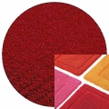 Abyss & Habidecor Bath Mat Must, 50 x 80 cm, 100% Egyptian Combed Cotton, 502 Hibiscus